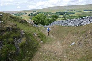 The Yorkshire Dales is a haven for walkers - picture courtesy of Carol Kubicki