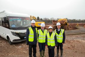 Travelworld breaks ground at its new site in Stafford