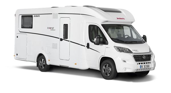 The Dethleffs Trend Edition T 7057 motorhome