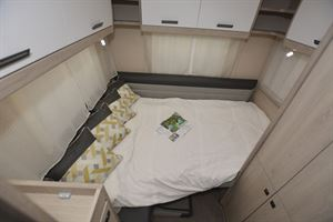 The bed in the Auto-Trail Tribute F72