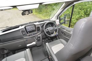 The cab in the Auto-Trail Tribute F72