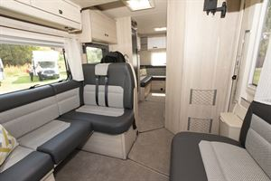 The interior of the Auto-Trail Tribute F72 motorhome