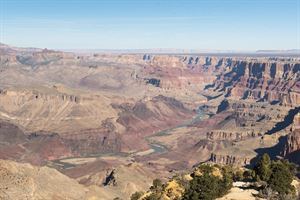The Colorado River in USA's Grand Canyon - picture courtesy of Mike Waterman