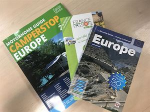 Win a European book bundle for your motorhome travels!