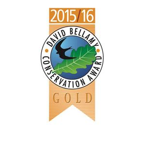 The site is a David Bellamy award winner