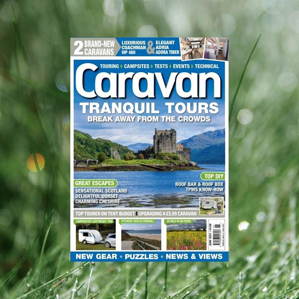 The June 2021 issue of Caravan is on sale now