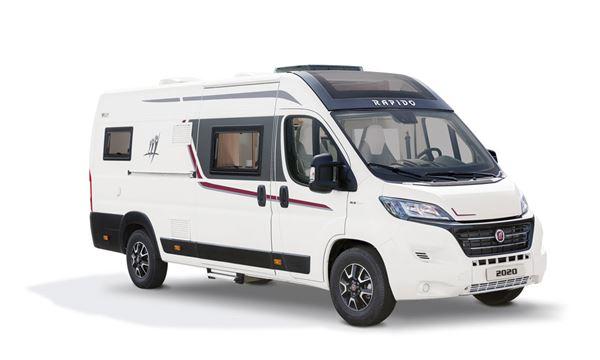 The Rapido V62 campervan