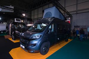 This Van Tourer 600D is fitted with the optional elevating roof © Warners Group Publications, 2019