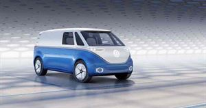 VW's latest concept - the all-electric Bulli Buzz Cargo