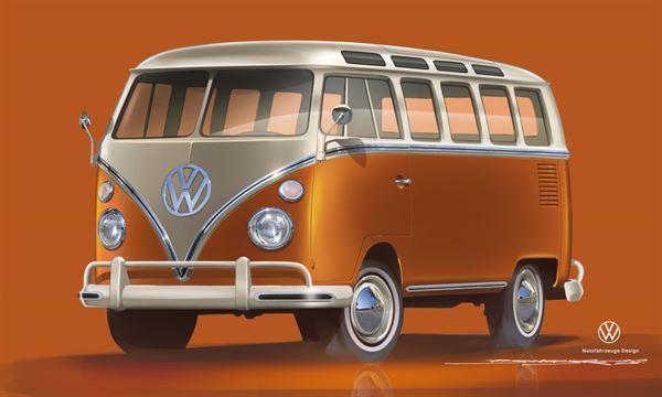 The VW e-Bulli