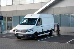The all-electric VW Crafter is now on the market