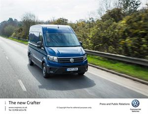All VW vans including the new Crafter will get new safety systems as standard