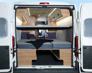 Rear space at bedtime