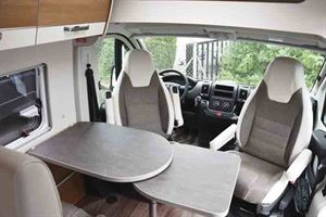 The cab and half dinette