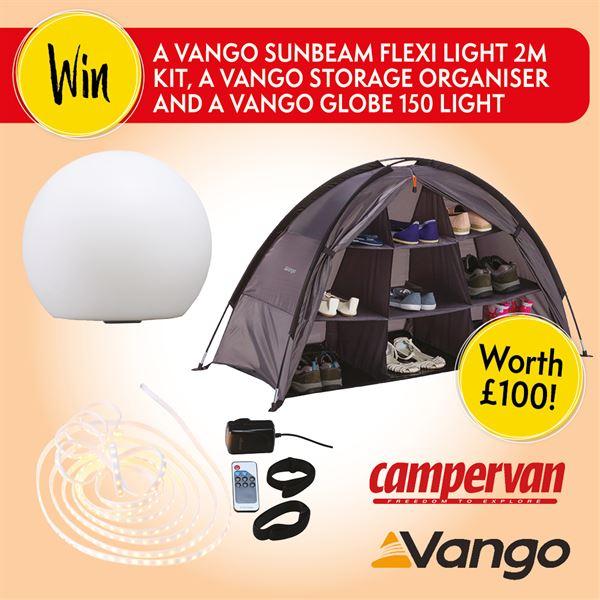 Win Vango goodies worth £100 for your campervan
