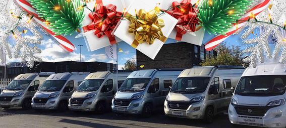 Vantage Motorhomes is holding two open days from 13-14 December