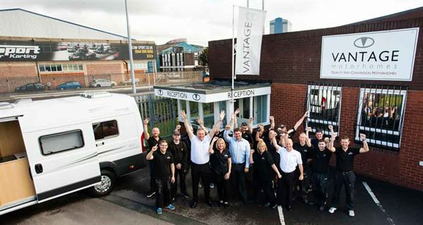 Vantage Motorhomes Is Celebrating Its 10 Year Anniversary As A Manufacturer Of Award Winning Van Conversions