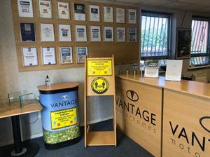 New measures are in place at Vantage Motorhomes, which has reopened its factory, with appointments also available for handovers, sales and servicing