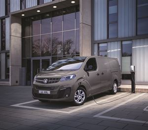 Vauxhall newly launched all-electric version of its Vivaro