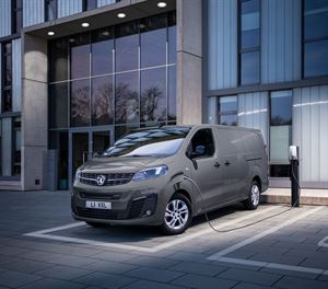 There are two battery options with the Vauxhall Vivaro-e
