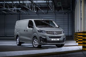 The Vauxhall Vivaro e-version