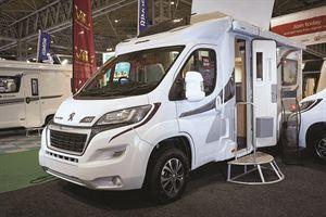 Two-berth Dealer Special Motorhome: Elddis Peugeot Prestige 120 from Vehicles for Leisure