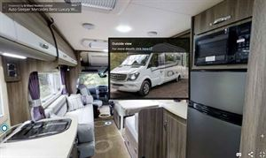 The virtual reality motorhome showroom