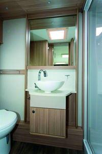 The 520's washroom