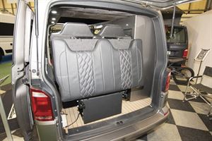 The rear of the VisionTech 20/20 Vision campervan