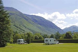 Glen Nevis Caravan & Camping Park in Fort William, Scotland © Warners Group Publications, 2019