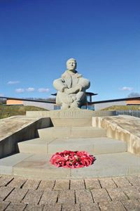 The Battle of Britain Memorial on Kent's south coast