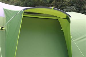 The door in the Coleman Weathermaster 8XL Air Tent