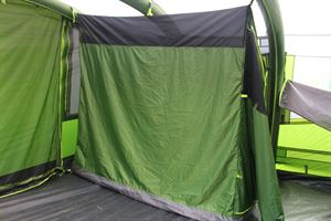 Inside the Coleman Weathermaster 8XL Air Tent
