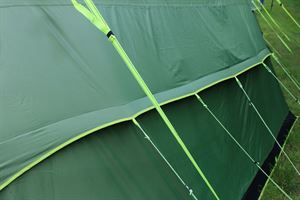 Outside the Coleman Weathermaster 8XL Air Tent