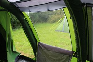 The windows in the Coleman Weathermaster 8XL Air Tent