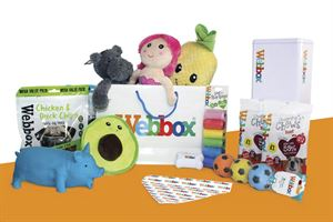 Send us your best dog photos for a chance to win this Webbox hamper of goodies