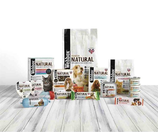 Win a hamper of dog food and treats from the Webbox Natural range