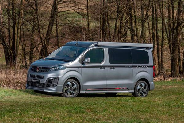 Wellhouse Leisure has launched the Vauxhall Vivaro Blighty