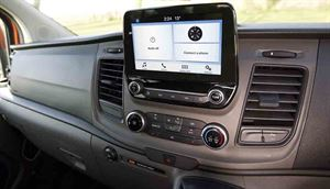 The revised dashboard comes with an 8-inch touchscreen © Warners Group Publications, 2019