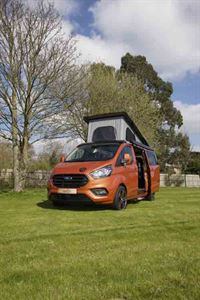 This is a striking campervan © Warners Group Publications, 2019
