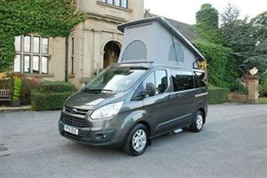 There is strong demand for quality used campervans currently