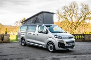 Wellhouse's new Citroën Martello with the roof up