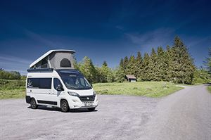 Several Columbus models – the 540D, 600 and 601D – are now available with an electric pop-top roof, which contains a double bed