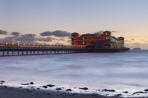 Weston-super-Mare, ©VisitBritain/Stephen Spraggon
