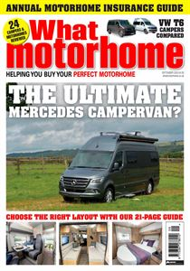 What Motorhome magazine names a new winner in its annual insurance survey