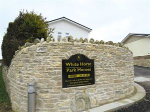 The Park's entrance just outside of Weymouth