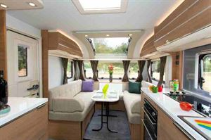 Wide and long, the Adria Adora Sava is so spacious