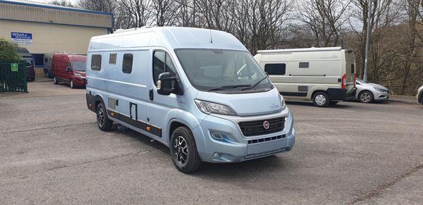 The WildAx Europa campervan