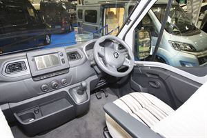 The cab in the WildAx Europa
