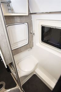The toilet in the WildAx Europa